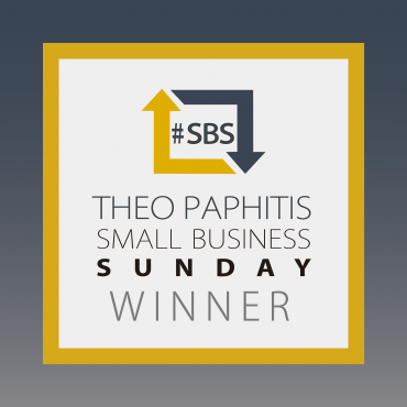 We Won The Theo Paphitis #SBS Award!