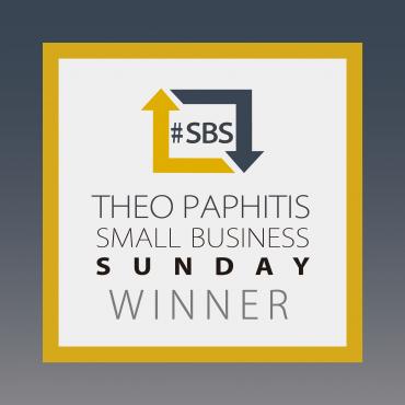 We Won The Theo Paphitis #SBS Award!
